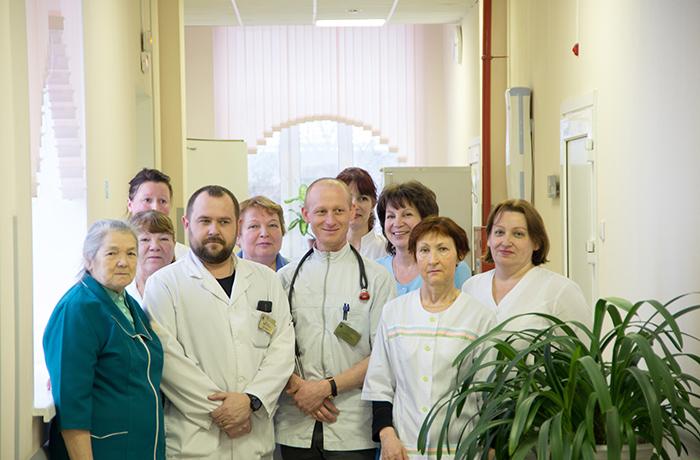 Больница 40. Реабилитационный центр в Сестрорецке