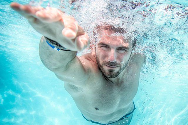Инсульт: гимнастика в воде